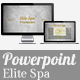 Elite Spa Powerpoint Presentation - GraphicRiver Item for Sale
