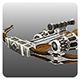 Lowpoly Crossbow - 3DOcean Item for Sale