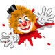 Clown in White Gloves - GraphicRiver Item for Sale
