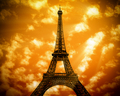The Eiffel Tower in Paris - PhotoDune Item for Sale