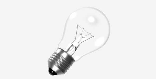 3DOcean Light Bulb 4458963