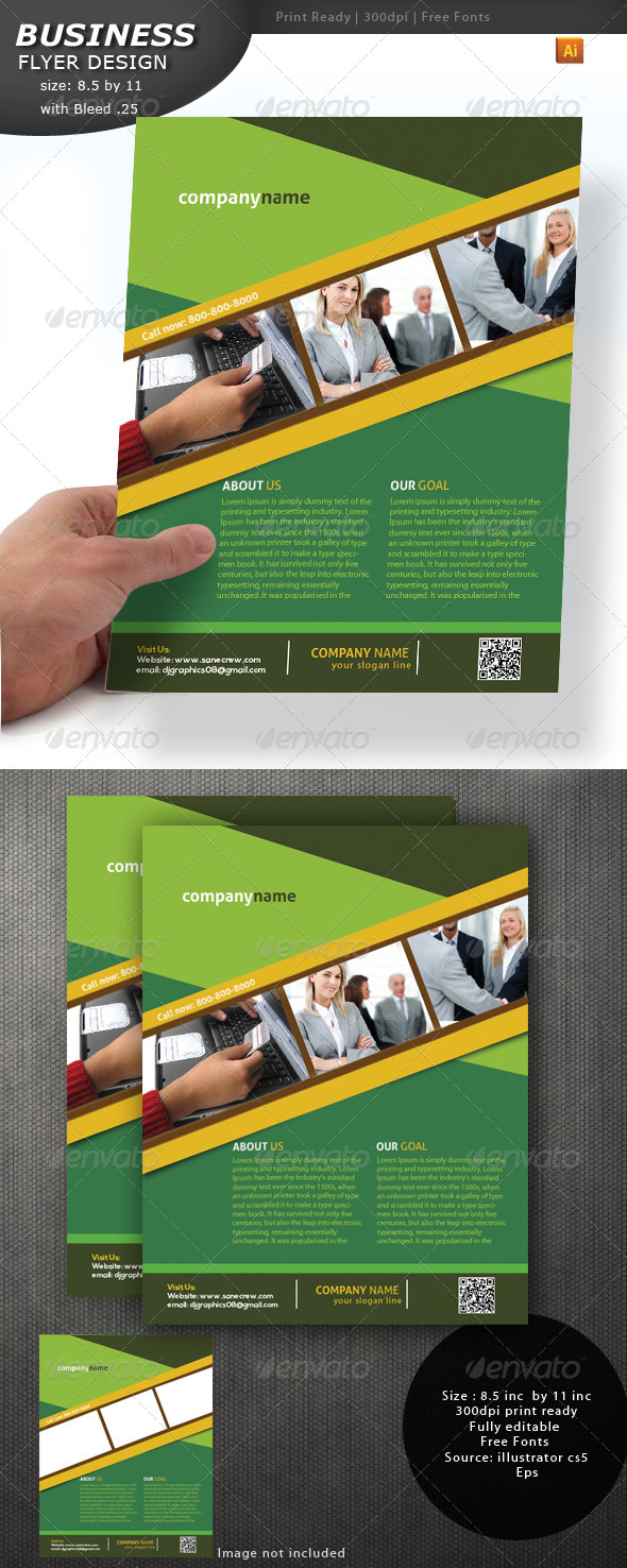 GraphicRiver Business Flyer Design 4362716