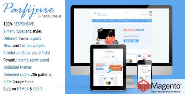 Parfijure – Premium Responsive Magento theme! - Shopping Magento