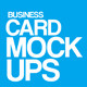 Business Card Mock-Ups - GraphicRiver Item for Sale