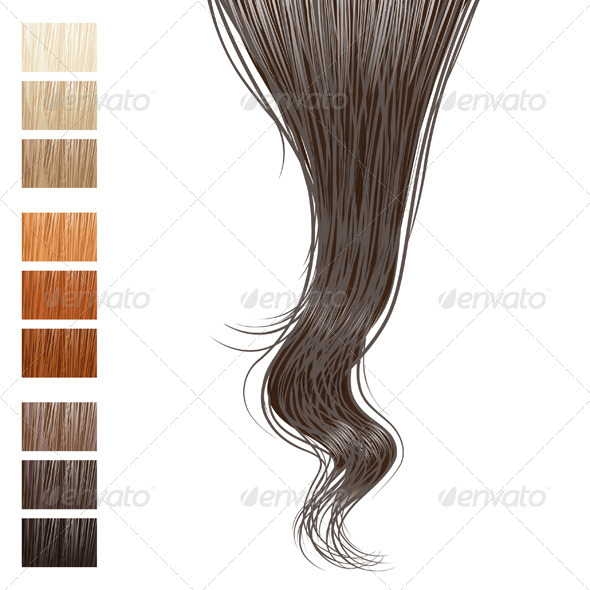GraphicRiver Hair Lock 4465957