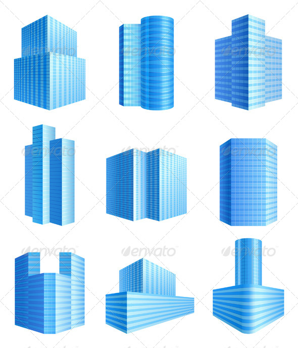 GraphicRiver Office Buildings 4465967