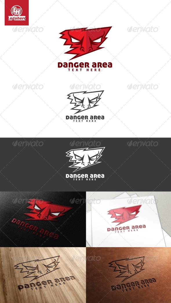 GraphicRiver Danger Area Logo Template 4465989
