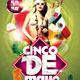 Cinco Celebration Party Flyer - GraphicRiver Item for Sale