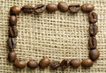 coffee beans on burlap - PhotoDune Item for Sale