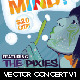 Vector Concert Flyer Template - GraphicRiver Item for Sale