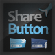 Share Buttons - Facebook and Twitter - GraphicRiver Item for Sale