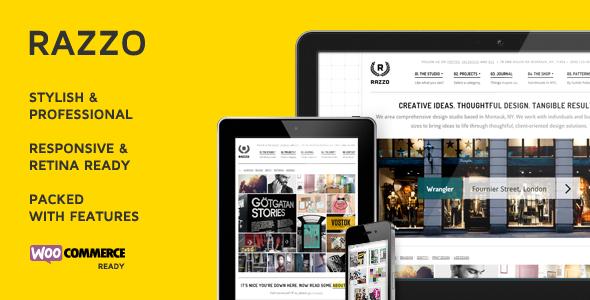 ThemeForest Razzo Premium Business eCommerce WordPress Theme 4427261