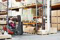 worker driver at warehouse forklift loader works - PhotoDune Item for Sale