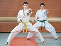 Two man at taekwondo exercises - PhotoDune Item for Sale