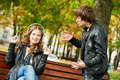 young couple in stress relationship - PhotoDune Item for Sale