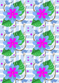 Background with Purple Flowers and Butterflies - PhotoDune Item for Sale