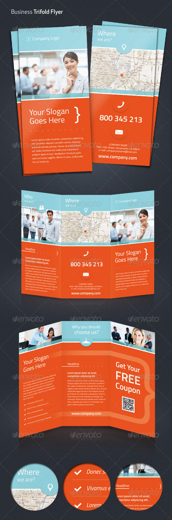 GraphicRiver Business Trifold Flyer 4472965