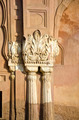 wall with historical ornamental columns in India - PhotoDune Item for Sale