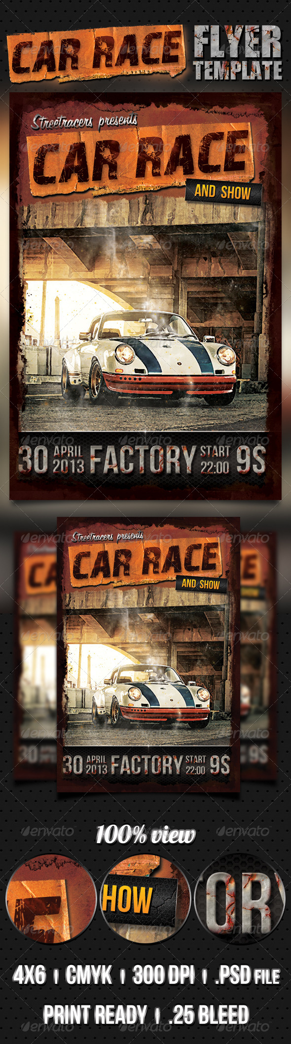 Car Race Flyer - Events Flyers