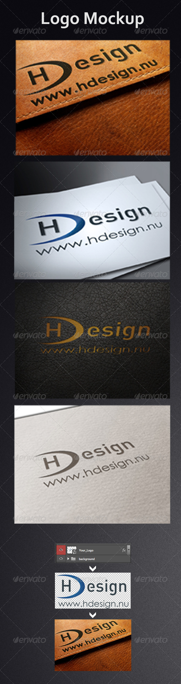 GraphicRiver Logo Mock-Ups 4419220