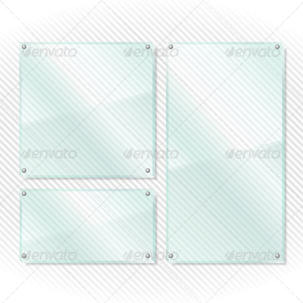 GraphicRiver Glass Boards 4473424