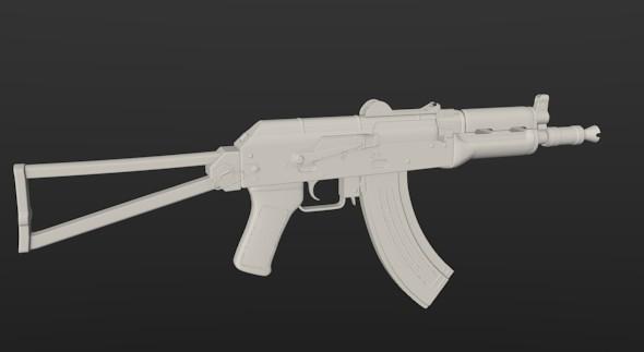 3DOcean AK47-SU 4473513