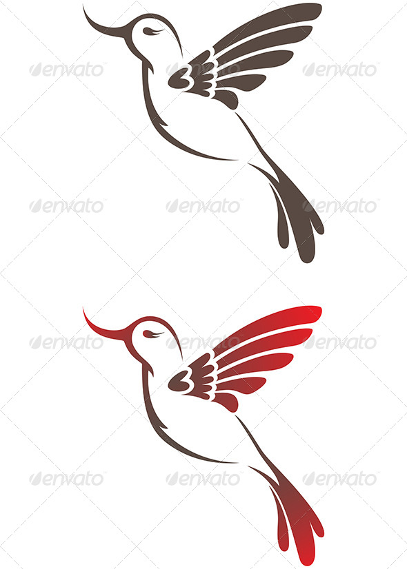 GraphicRiver Hummingbird 4473937