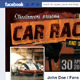 Fb Timeline Cover - Car Race fans - GraphicRiver Item for Sale