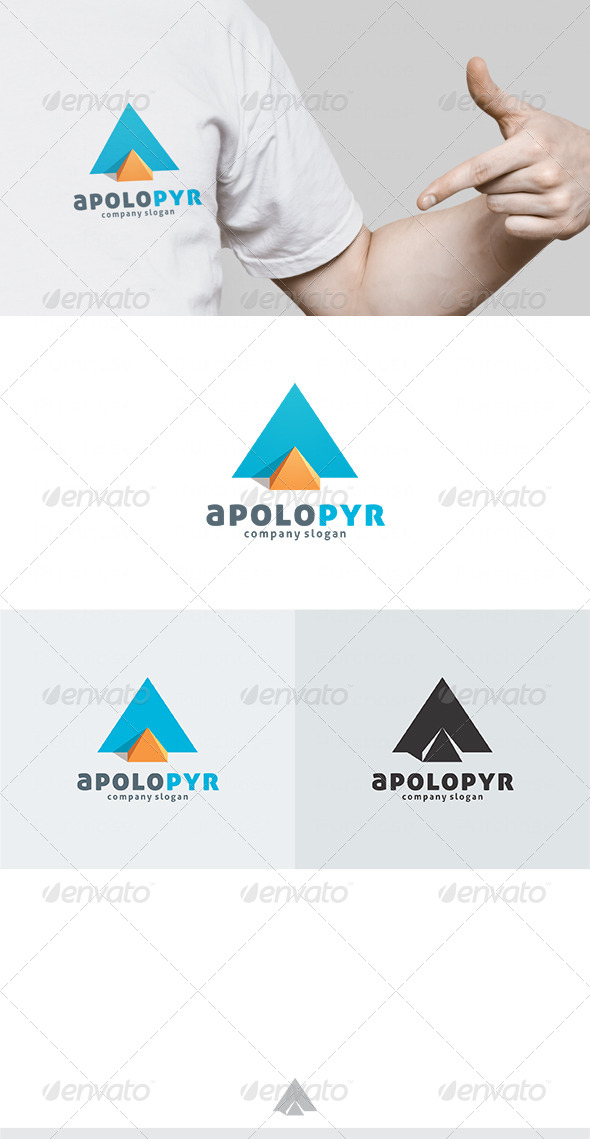 Apolo Pyr Logo - Vector Abstract