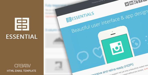 Business Essentials HTML Email - Email Templates Marketing