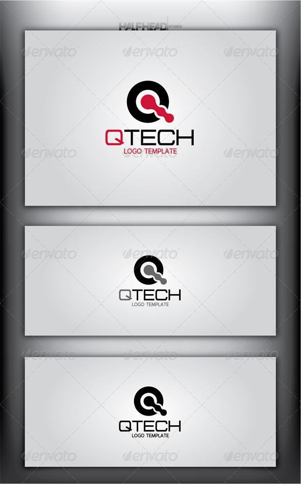 GraphicRiver QTECH Logo Template 4477214