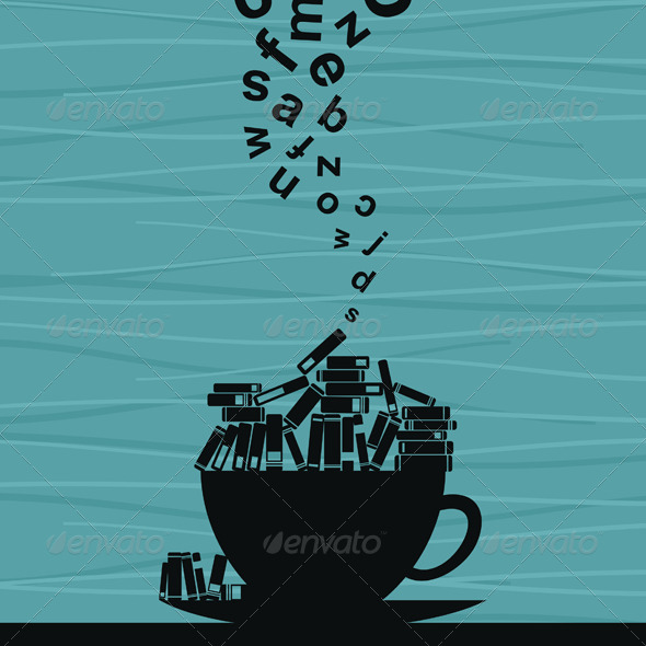 GraphicRiver Book Cup 4477511
