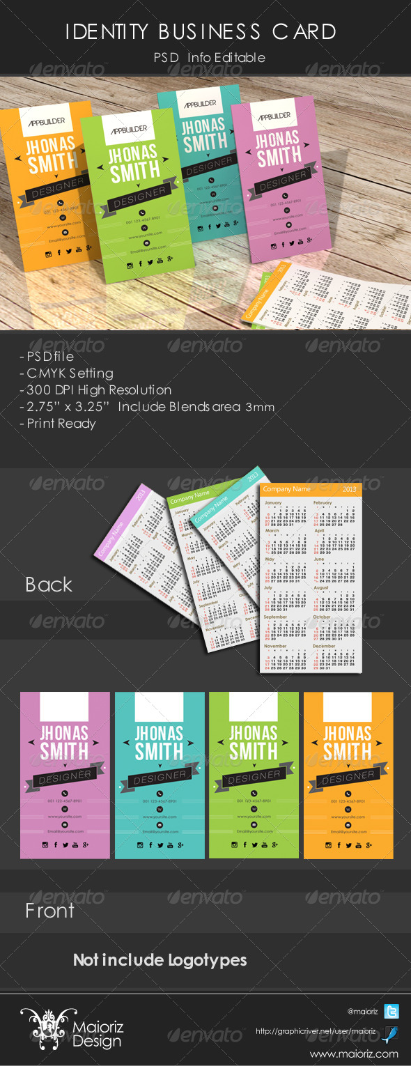 GraphicRiver Identity Business Card 4479337