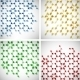 Set Molecular Background - GraphicRiver Item for Sale