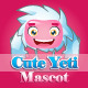 Cute Yeti Mascot - GraphicRiver Item for Sale