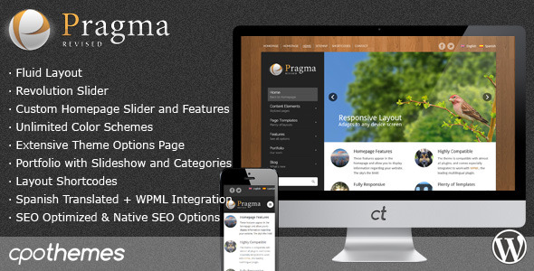 Pragma – Fluid Business & Portfolio Theme
