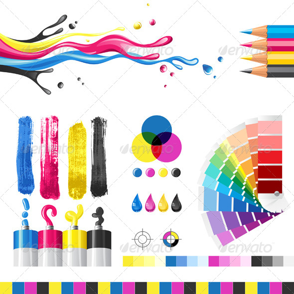 GraphicRiver CMYK Elements 4482854