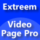 Extreem Video Page Pro - CodeCanyon Item for Sale