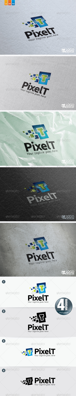 GraphicRiver Pixel T 4483325
