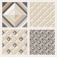 Set of Floor Tiles Patterns - GraphicRiver Item for Sale
