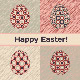 Easter Card with Patterned Eggs - GraphicRiver Item for Sale