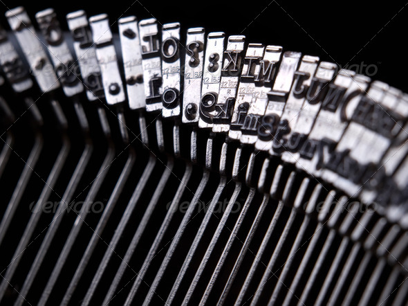 Typewriter - Stock Photo - Images