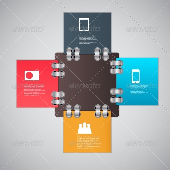 GraphicRiver Infographic Template Design Vector Illustration 4484965