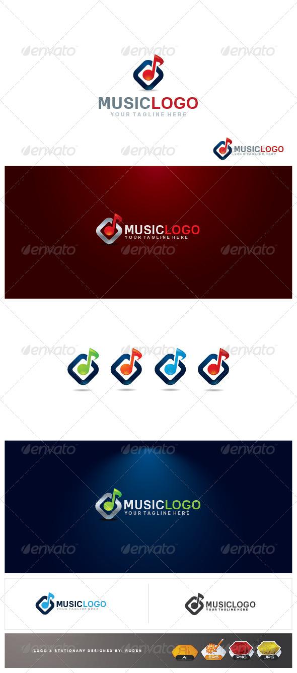 GraphicRiver music logo 4416134