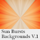 Sun Bursts Backgrounds V.1 - GraphicRiver Item for Sale