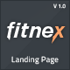 Fitnex - Responsive HTML Landing Page - ThemeForest Item for Sale