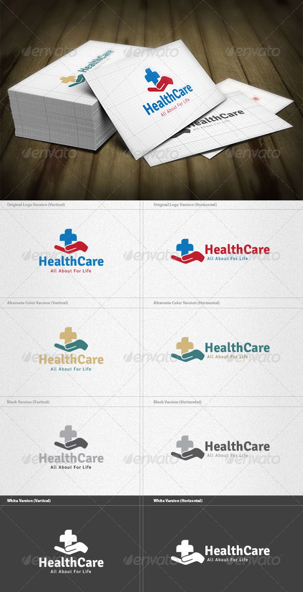 GraphicRiver Health Care Logo 4420889