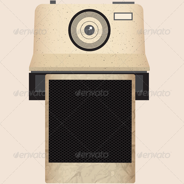 GraphicRiver Camera and Frame 4487175