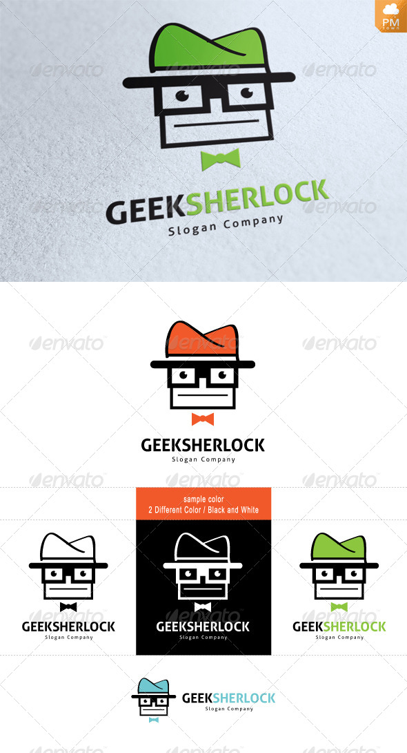 GraphicRiver Geek Sherlock 4487240