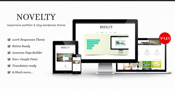 Novelty wordpress theme download